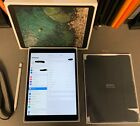 Apple iPad Pro 2nd Gen. 256GB, Wi-Fi, 10.5in Space Gray w/ Cover & Apple Pencil