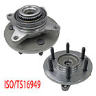2Pcs Front Wheel Hub Bearing Assembly for Ford Expedition Lincoln Navigator