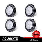 "4x13LED 2-1/2"" 2.5"" Round Clear Lens /Amber Clearance Light Trailer marker Lig"