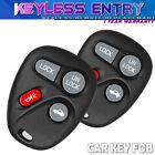 2 For 97-98 Buick Park Avenue 4 Button Car/Auto Keyless Entry Remote Car Key Fob