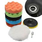 "Clean Sponge Polishing Waxing Buffing Pad Kit 7pcs 3/4/5/6/7"" for Car Polisher"