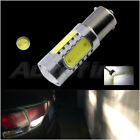 2pcs 7.5W 1156/BA15S RV Camper Trailer COB LED Amber Yellow Light 1141 7506