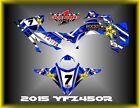 Yamaha YFZ 450R 14-15  SEMI CUSTOM GRAPHICS KIT WAVER4