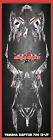 Yamaha Raptor 700 2013 & up CUSTOM GRAPHICS KIT GHOST2