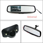 Metal Auto Dimming TFT LCD Rear View Mirror Monitor w/ Rear Camera Night Vision