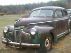 1941 Chevy Chevrolet Master Deluxe? 2 Door Dr 6 Cylinder Basically Complete