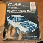 Haynes Publications 96016 Repair Manual 1975-1992 Golf, Jetta, Scirocco, Pick-up