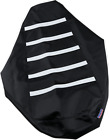 Parts Unlimited 0821-2891 Gripper Seat Cover Black/White