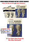 ONLY $1.15 Manual!  HUGE SET ALL 19 Manuals Honda Outboard Service 2hp to 225hp