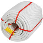 """1/2"""" 600'Anchor Rope Dock Line with Thimble Climbing 1200Lbs Polyester Hoist"""