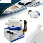 24V Submersible 600 GPH Engine Marine Boat Bilge Pump With Float Switch Fine