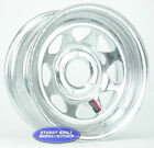 """(2)-Boat Trailer Parts WHEELS Rim 15"""" Hot Dipped Galvanized 5 bolt on 4 1/2"""""""