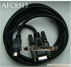 NEW FOR Panasonic FP0 / FP2 / FP-M / FP-X series programming cable PC-AFC8513