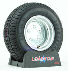 "(2) Trailer Tires 20.5x8-10 Galvanized 5Bolt Wheel 5 on 4.5"" 205/65-10 10"" LRD"