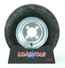 "Boat Trailer Tire by LoadStar 4.80x8 Galvanized Wheels  4.80-8 4 Lug 8"" Rim"