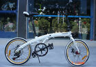 "20"" ultra light aluminum alloy shimano 7 speeds folding bike disc brakes(11kg)"