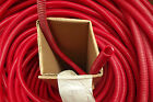 "25  FT 3/8"" ID,RED SPLIT LOOM,WIRE COVERING.3.7."