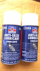 (2) 8.5 OZ CANS PERMATEX 133MA ANTISEIZE LUBRICANT,#81464.