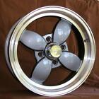 "MG Retro Sport Wheel MGA MGB MGB-GT 15""x6"" Alloy Wheel 4x114.3mm Libre Style Set"
