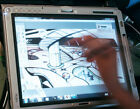 Fujitsu T series tablet, Wacom Dgtzr, 2GB RAM, 160GB 7200RPM, drawing Tablet
