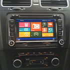 "RNS-Style 7"" Touch-Screen Sat-Nav/DVD/iPod/Bluetooth/GPS/USB for VW Golf MK 6"