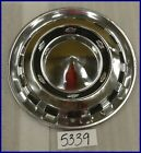 "1956 56 CHEVY 15"" HUBCAP HUB CAP NICE USED CT 56 WC"