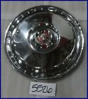 "1955 55 1956 56 FORD 15"" HUBCAP HUB CAP GOOD USED FD 55 56 WC"