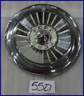"1957 57 FORD 14"" HUBCAP HUB CAP WHITE PAINT FD 57 WC"