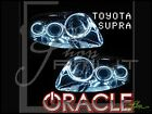 ORACLE Toyota 93-02 Supra LED WHITE Angel Eyes Demon HALO Light Bulbs Kit DRL