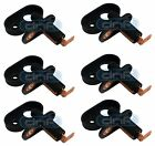 6 x Universal Door Switch & Gasket - Courtesy/ Interior Light & Alarm Bonnet Pin