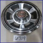 "69 70 PONTIAC FIREBIRD TEMPEST GRAND PRIX 14"" HUBCAP HUB CAP GOOD USED 5016"