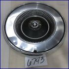 "1972 1973 72 73 FORD MUSTANG 14"" HUBCAP HUB CAP GOOD USED D2ZZ1130A 705"