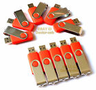 Lot Sell USB Drive 2.0 8GB 10PCS Memory Flash Thumb Stick Pendrive Red Brand New