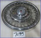 "91 92 93 94 95 OLDS NINETY EIGHT TORONADO 15"" WIRE TYPE HUBCAP GOOD USED 4113"