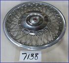 "1985 85 OLDS OLDSMOBILE CALAIS 13"" WIRE TYPE HUBCAP HUB CAP NICE USED 4101"