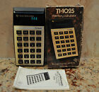 Vintage 1977 Working TI-1025 Calculator In Original Box, Texas Instruments