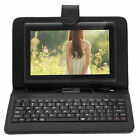 "iRulu Tablet PC 7"" Android 4.2 8GB Dual Core A23 Black w/Black Gridding Keyboard"