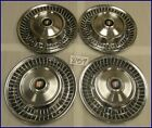 "1963 63 BUICK SPECIAL 15"" HUBCAPS HUB CAPS GOOD USED SET OF 4 OEM 1359978 B-7"
