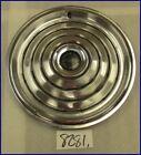 """1968 68 PONTIAC DISC BRAKE 15"""" HUBCAPS HUB CAPS GOOD USED OEM ORIGINAL SET 5013"""
