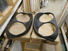 NORS Ford 1958 headlamp bezel  B8A-13063B  pair rim FOMOCO Right and Left 58 59