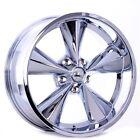 Boyds Wheels BC1-776540C Junkyard Dog 17x7 Chrome Wheel, 5 on 4-1/2