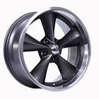 Boyds BC1-296550G Junkyard Dog Series 20x9 Gray Wheel, 5 on 4-1/2