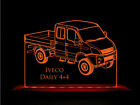 Iveco Daily 4x4 Truck LED Acrylic Edge Lit Sign+AC adaptor+Remote Control