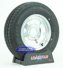(2)- Trailer Tires ST175/80R13 LRC Radial Galvanized 13 inch Wheel 5 Bolt