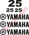 Yamaha outboard decal kit 25 hp decal stickers