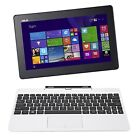 ASUS T100 10-Inch Laptop [OLD VERSION] White 64GB Tablet, Dock