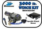 KFI 3000 lb. Winch Mount Kit '10'-'18 Polaris EV Ranger Midsize 4x4