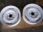 Ford 15x5 1/2 factory disk brake steel wheels (2)