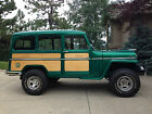 Willys : Other Woody station wagon 1955 jeep willys station wagon 4 wd restored and customized