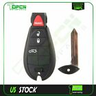 New Uncut Replacement Key Fob Keyless Entry Remote Transmitter for Fobik 4btn